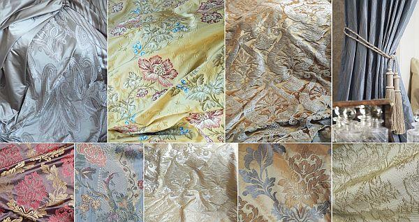 Фото 1 Шторы элитные на заказ, шелковые ткани Англия и Италия распродажа со скидками до 80 % со склада в Москве.