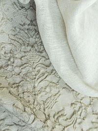 Ткани для штор натуральные - хлопок, лен и шерсть.