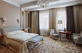 Шторы для спальни, дизайн на заказ в классическом стиле Фото 10
