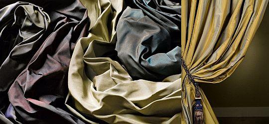 Шторы элитные ткани, классический натуральный шелк Фото13