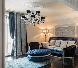 Фото 8 Шторы - дизайн на заказ в современном стиле Арт Деко для гостиной