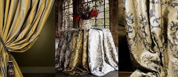 Шторы, дизайн и пошив на заказ. Ткани для штор Фото1