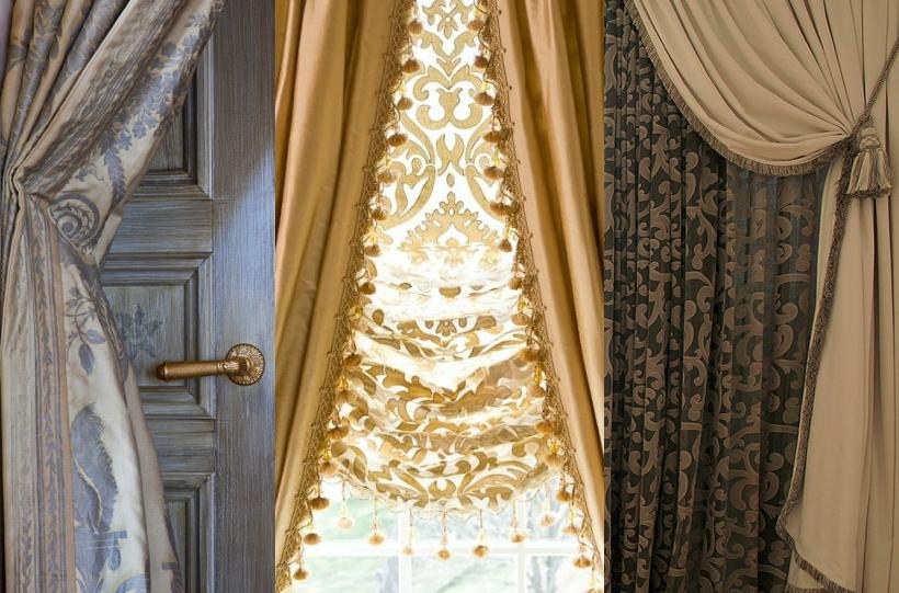 Дизайн штор жалюзи